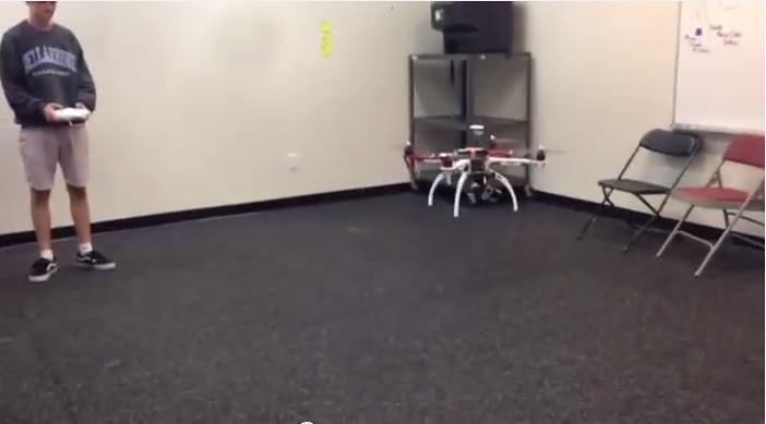 Indoor Test Flight